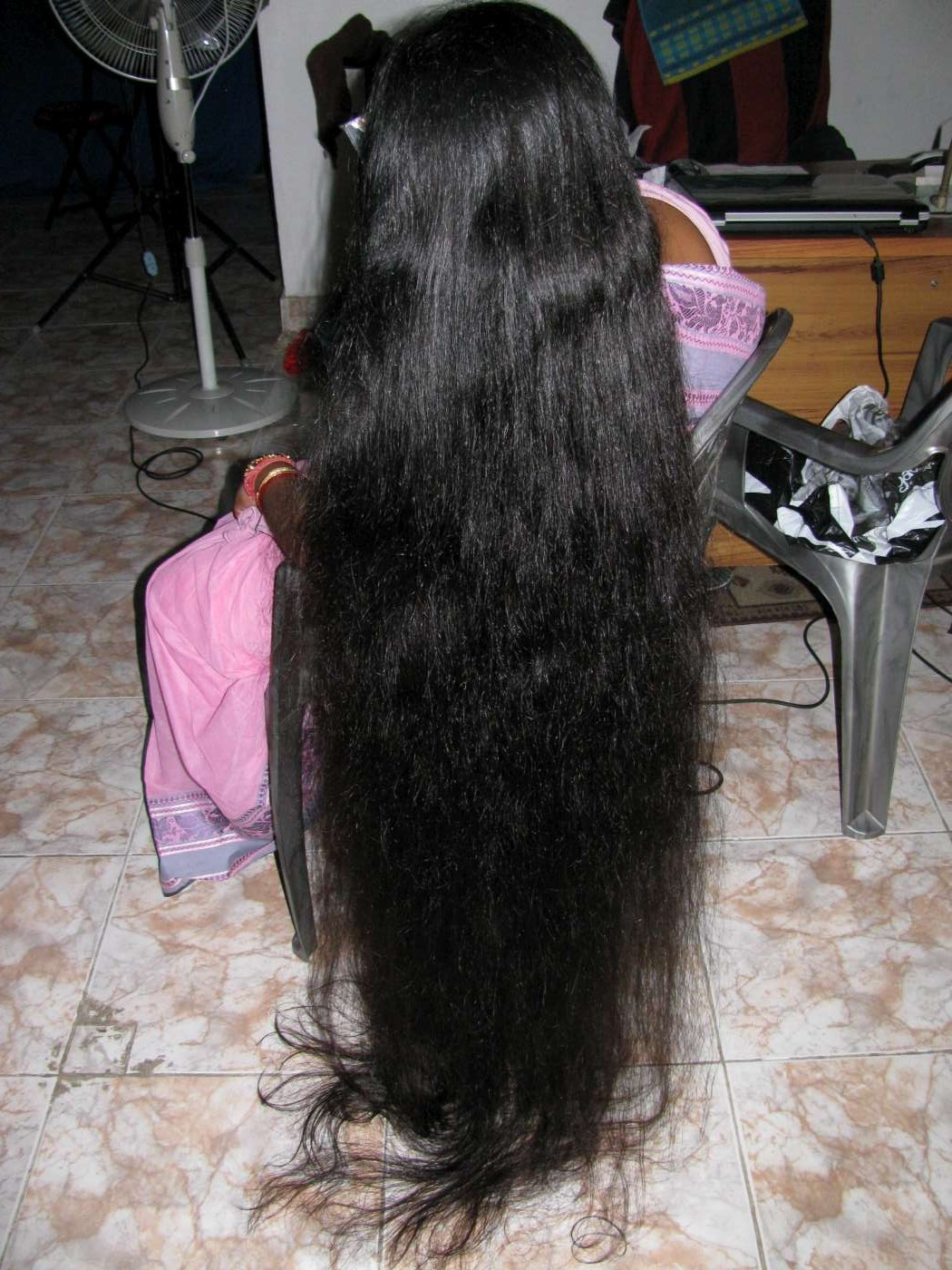 long hair india